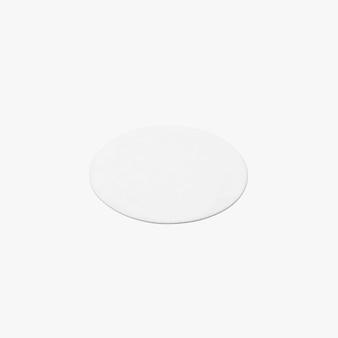 Форма ковра изолированного круга