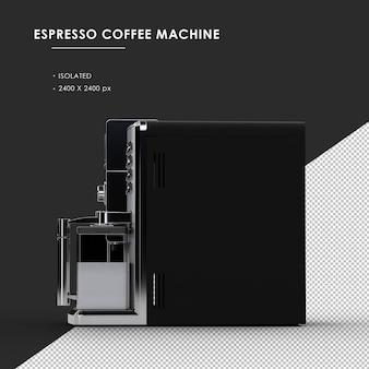왼쪽보기에서 절연 된 espesso 커피 머신