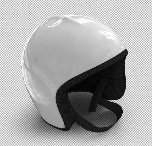 Isolated helmet. isometric view