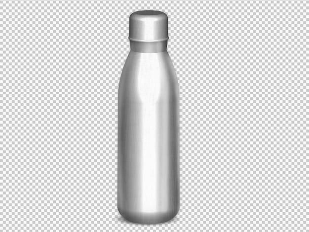 隔離された金属瓶