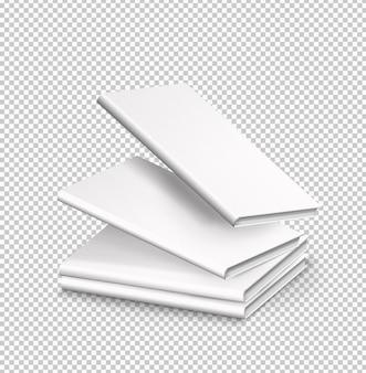 Confezione isolata di quattro libri