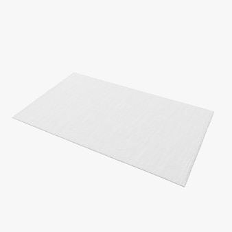 Isolated rectangle carpet shape