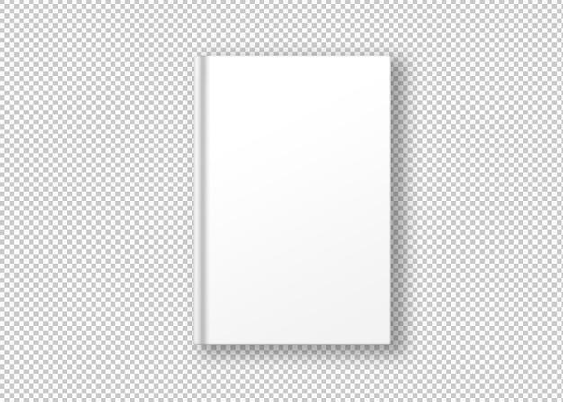 Libro bianco isolato