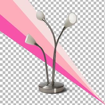 Изолированные белые лампы