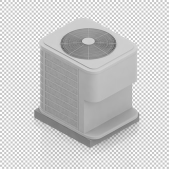 Isometric air conditioning
