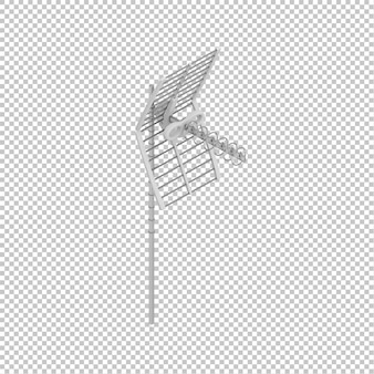 Isometric antenna