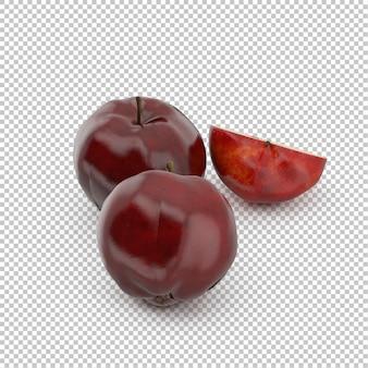 Изометрическое яблоко