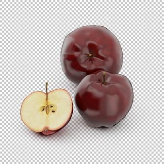 Isometric apple