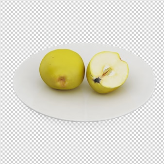 Isometric apples