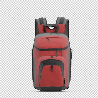 Isometric backpack