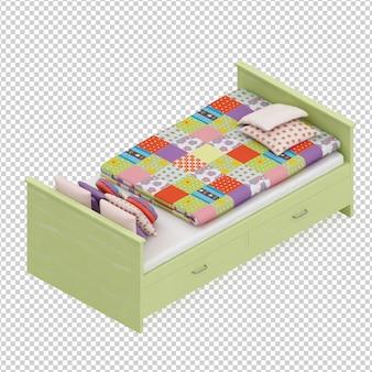 Isometric Bed
