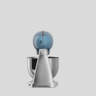 Isometric blender 3d isolated render