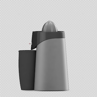 Isometric blender juice machine