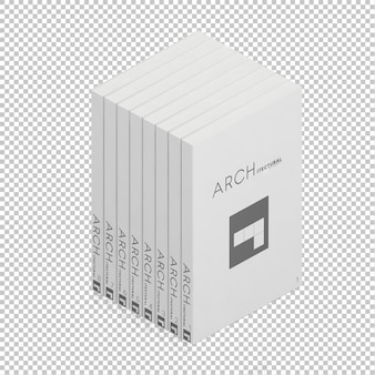 Isometric books