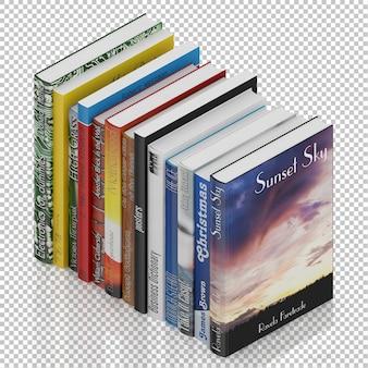 Isometric books
