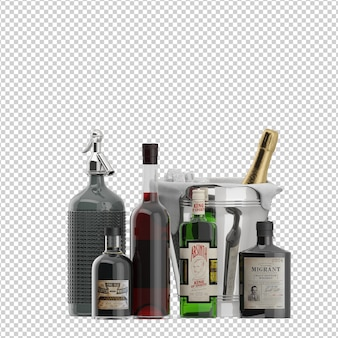 Isometric Bottles