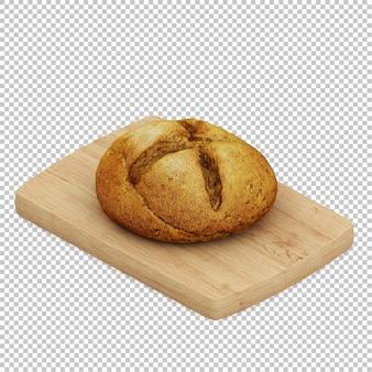 아이소 메트릭 빵 나무 절단 보드