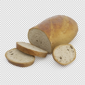 Isometric bread