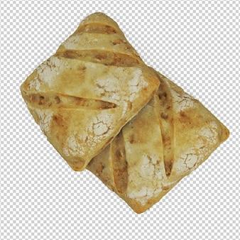 Isometric bread