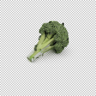 Isometric broccoli