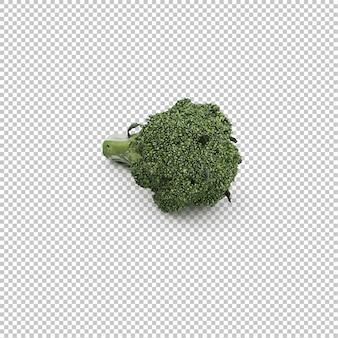 Изометрическая брокколи