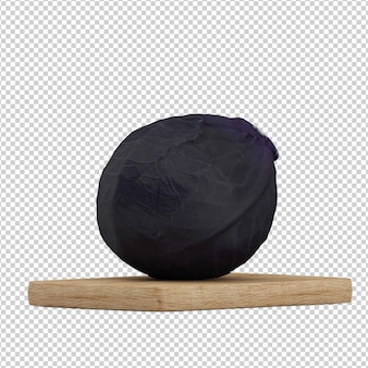 Isometric cabbage