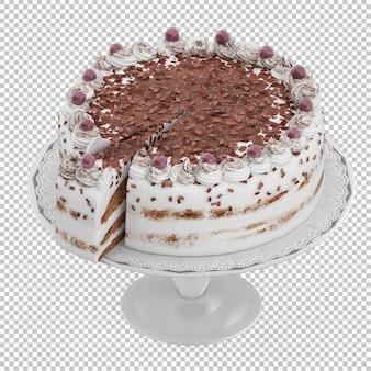 Isometric cake