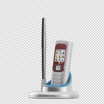 Isometric cellphone