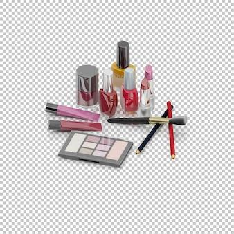 Isometric cosmetics