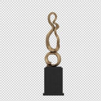Isometric decoration