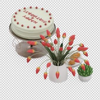 Isometric dessert