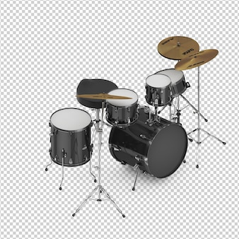 Isometric drum kit