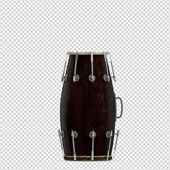 Isometric drum