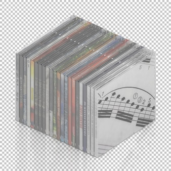 Isometric dvd cd