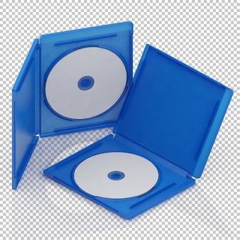 Isometric dvd cd
