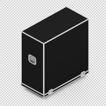 Isometric fender case