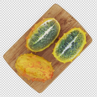 Isometric fruit
