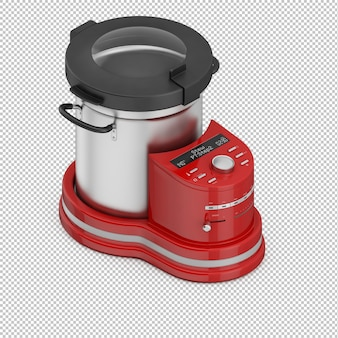 Isometric fryer