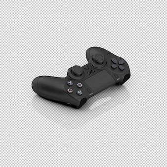 Isometric game controller
