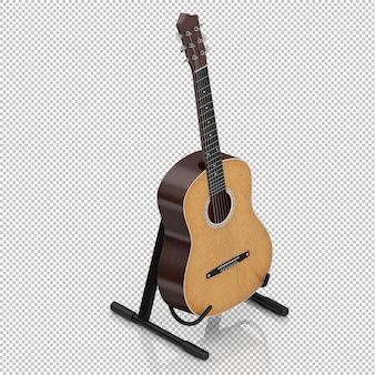 Isometric guitar
