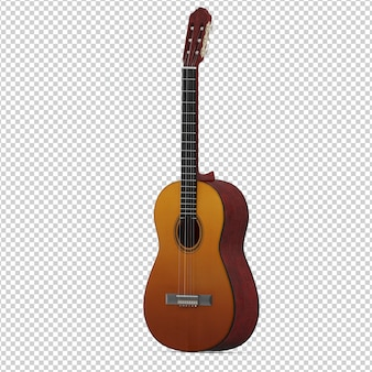 Isometric guitar