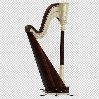 Isometric harp