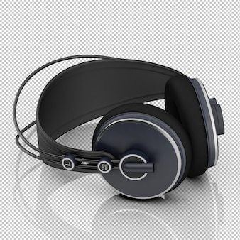 Isometric headphones