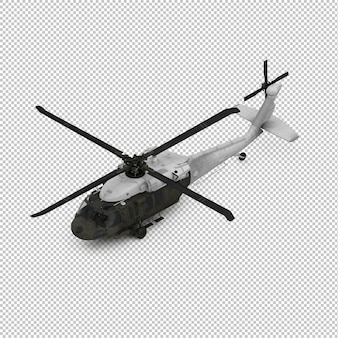 Isometric helicopter