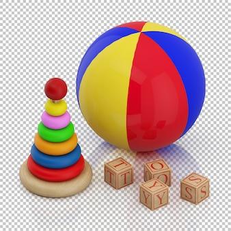 Изометрическая игрушка для малышей