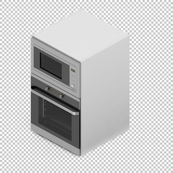 Isometric kitchen cooker