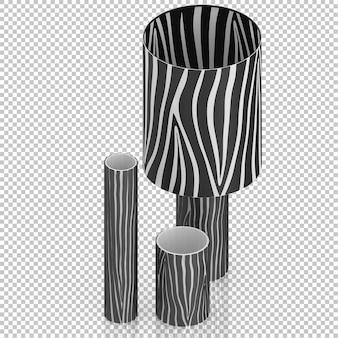 アイソメトリックランプ