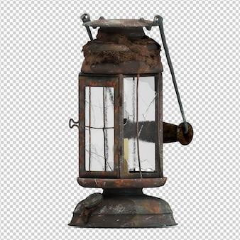 Isometric lantern