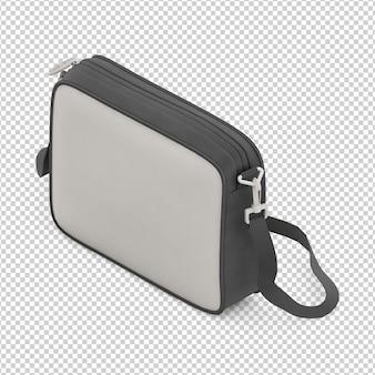 Isometric laptop bag