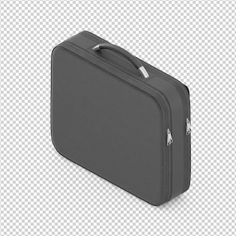 Isometric laptop bag